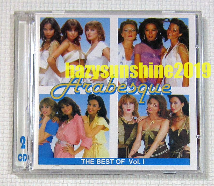 アラベスク THE BEST OF ARABESQUE VOL.1 2枚組 CD ディスコ DISCO ハロー・ミスター・モンキー