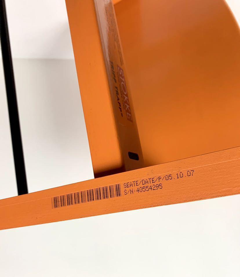 ストッケ トリップトラップ S/N4から オレンジ ベビーチェア ハイチェア_画像8
