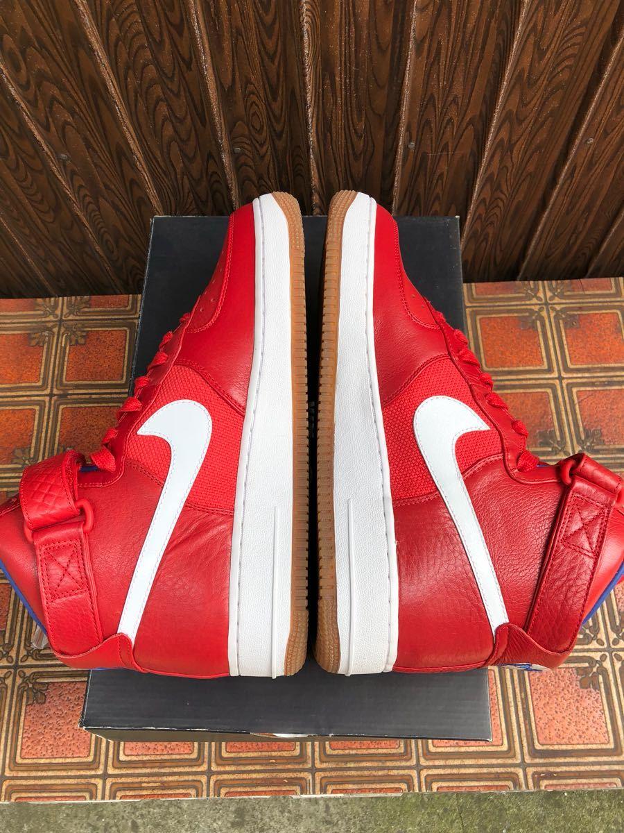 Nike Air Force1 Hi(フォース)Bobbito Garcia 赤 us9(27cm)新品_画像4