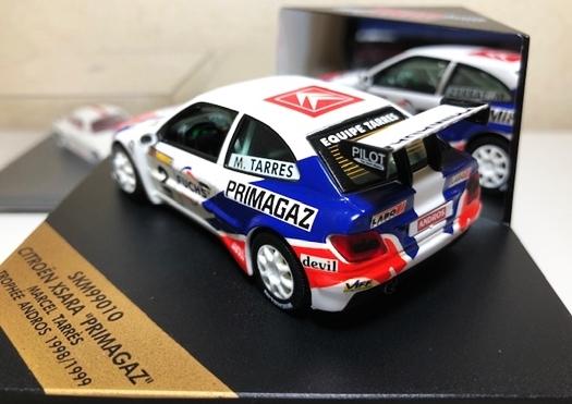 約20年前の1/43ミニカー3台Set!限定4000台シトロエンクサラ・インプレッサWRC(リチャードバーンズ/アクロ優勝)・アルピーヌルノーA110_画像3