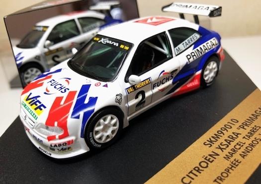 約20年前の1/43ミニカー3台Set!限定4000台シトロエンクサラ・インプレッサWRC(リチャードバーンズ/アクロ優勝)・アルピーヌルノーA110_画像2
