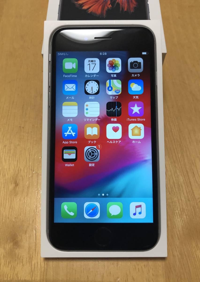 docomo版 iPhone6s グレー 64GB_画像5