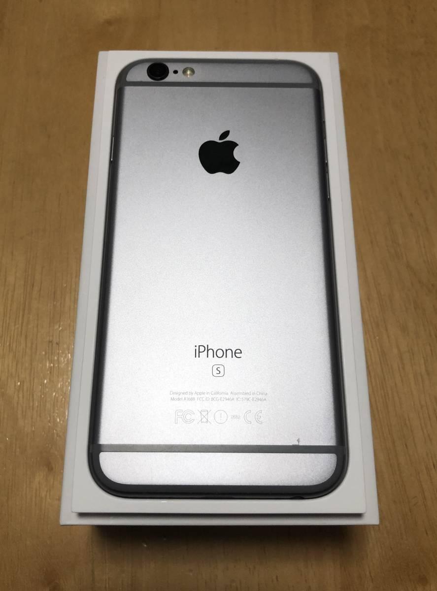 docomo版 iPhone6s グレー 64GB_画像6