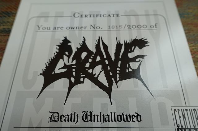 入手困難限定品 GRAVE / Death Unhallowed CD+DVD 13枚組BOXセット デスメタルバンド_画像4