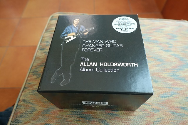 Allan Holdsworth / THE MAN WHO CHANGED GUITAR FOREVER! リマスター12枚組ボックスセット
