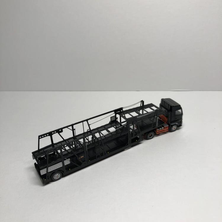 【新品・完成品】ペアーハンズ キット完成品 トレーラーキャリアカー 黒塗装 特別完成品_画像3
