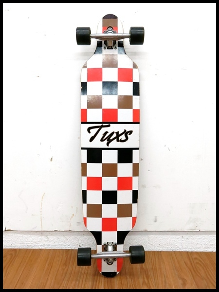 【Tuxs】☆ロングスケートボード☆カービング☆陸トレ/サーフィン/ストリート☆_画像3