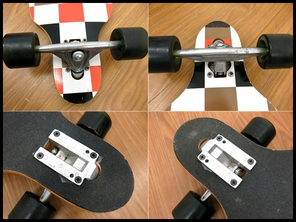 【Tuxs】☆ロングスケートボード☆カービング☆陸トレ/サーフィン/ストリート☆_画像9