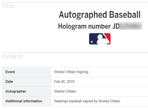 GE★限定版!大谷翔平2018年直筆サイン3月29日MLBデビュー・初ヒットMLB公式ボール+写真セット・スタイナー社証明書+MLB機構証明☆イチロー_画像7