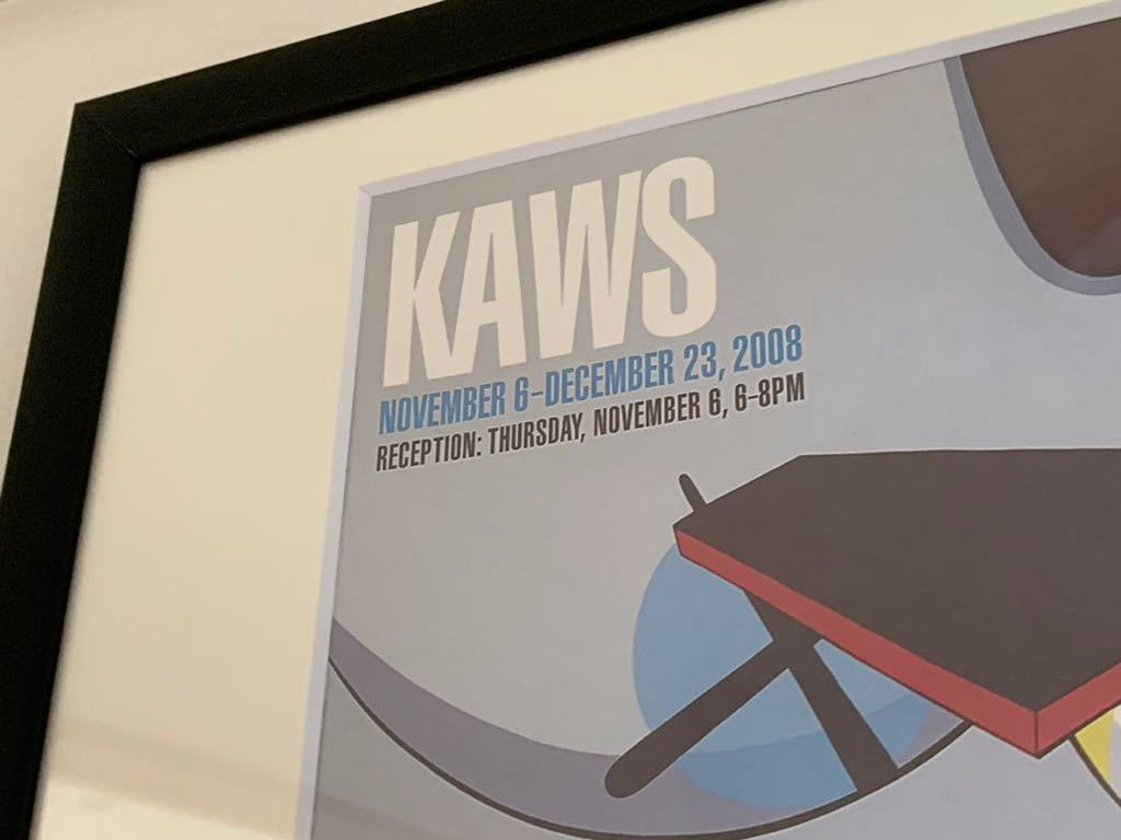 【超希少!】KAWS Gering&Lopez Gallery 2008 オフィシャルポスター 検〕村上隆 草間彌生 Dior 奈良美智 banksy NIGO APE UNIQLO TEN_画像2