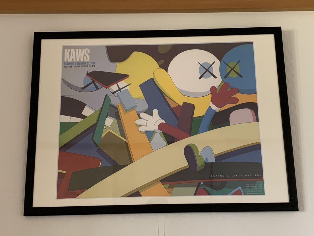 【超希少!】KAWS Gering&Lopez Gallery 2008 オフィシャルポスター 検〕村上隆 草間彌生 Dior 奈良美智 banksy NIGO APE UNIQLO TEN_画像6