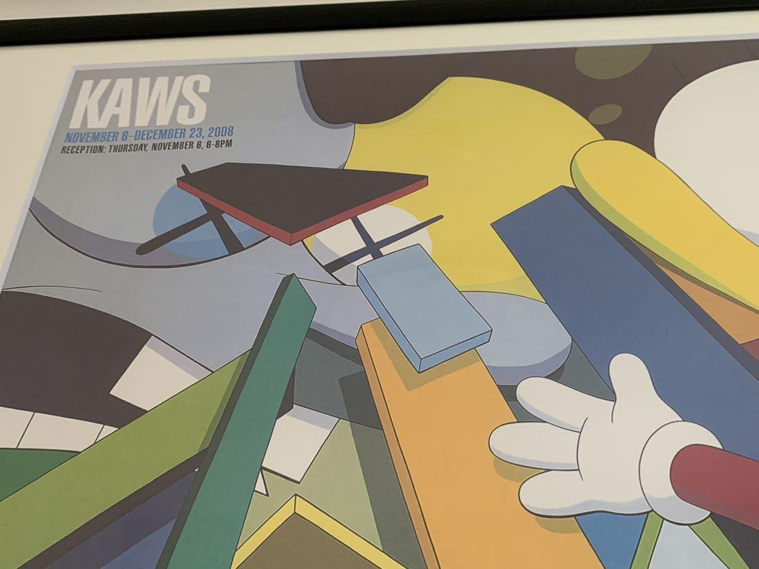 【超希少!】KAWS Gering&Lopez Gallery 2008 オフィシャルポスター 検〕村上隆 草間彌生 Dior 奈良美智 banksy NIGO APE UNIQLO TEN_画像4