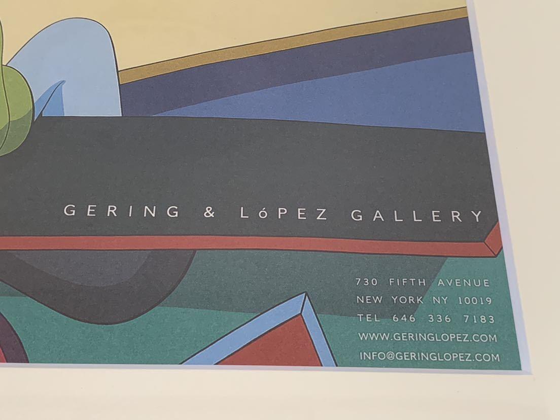 【超希少!】KAWS Gering&Lopez Gallery 2008 オフィシャルポスター 検〕村上隆 草間彌生 Dior 奈良美智 banksy NIGO APE UNIQLO TEN_画像3