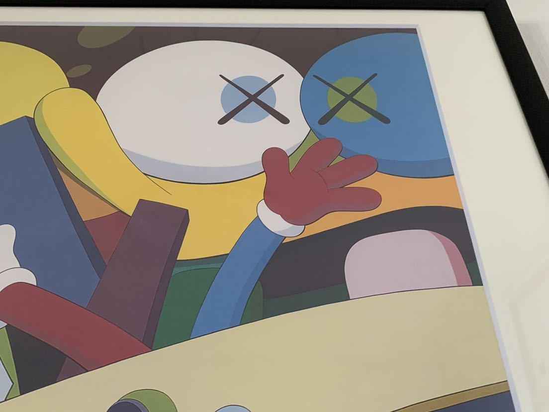 【超希少!】KAWS Gering&Lopez Gallery 2008 オフィシャルポスター 検〕村上隆 草間彌生 Dior 奈良美智 banksy NIGO APE UNIQLO TEN_画像5