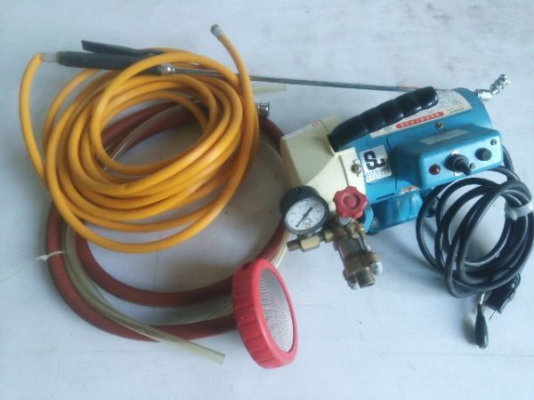 キョーワ KY-20A 電動水圧テストポンプ 管工事・水道工事 動作良好