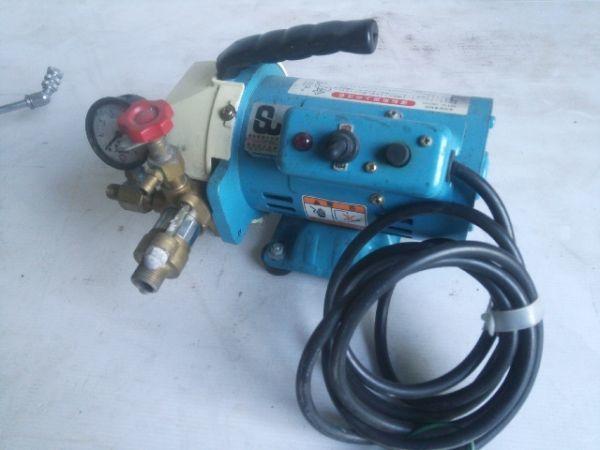 キョーワ KY-20A 電動水圧テストポンプ 管工事・水道工事 動作良好_画像2