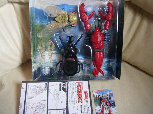 1円~トランスフォーマー ビーストウォーズ X-3 サイバトロン合体巨人 トリプルダクス タカラ 美品_画像2