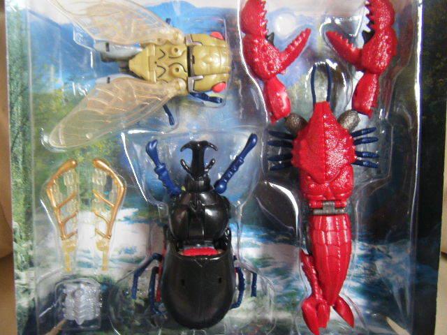 1円~トランスフォーマー ビーストウォーズ X-3 サイバトロン合体巨人 トリプルダクス タカラ 美品_画像3