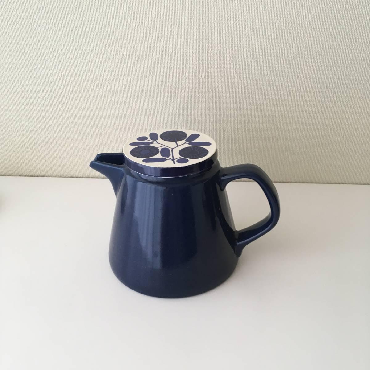 北欧ヴィンテージ ビンテージ 北欧雑貨 コーヒーポット フィルター 陶器製_画像2