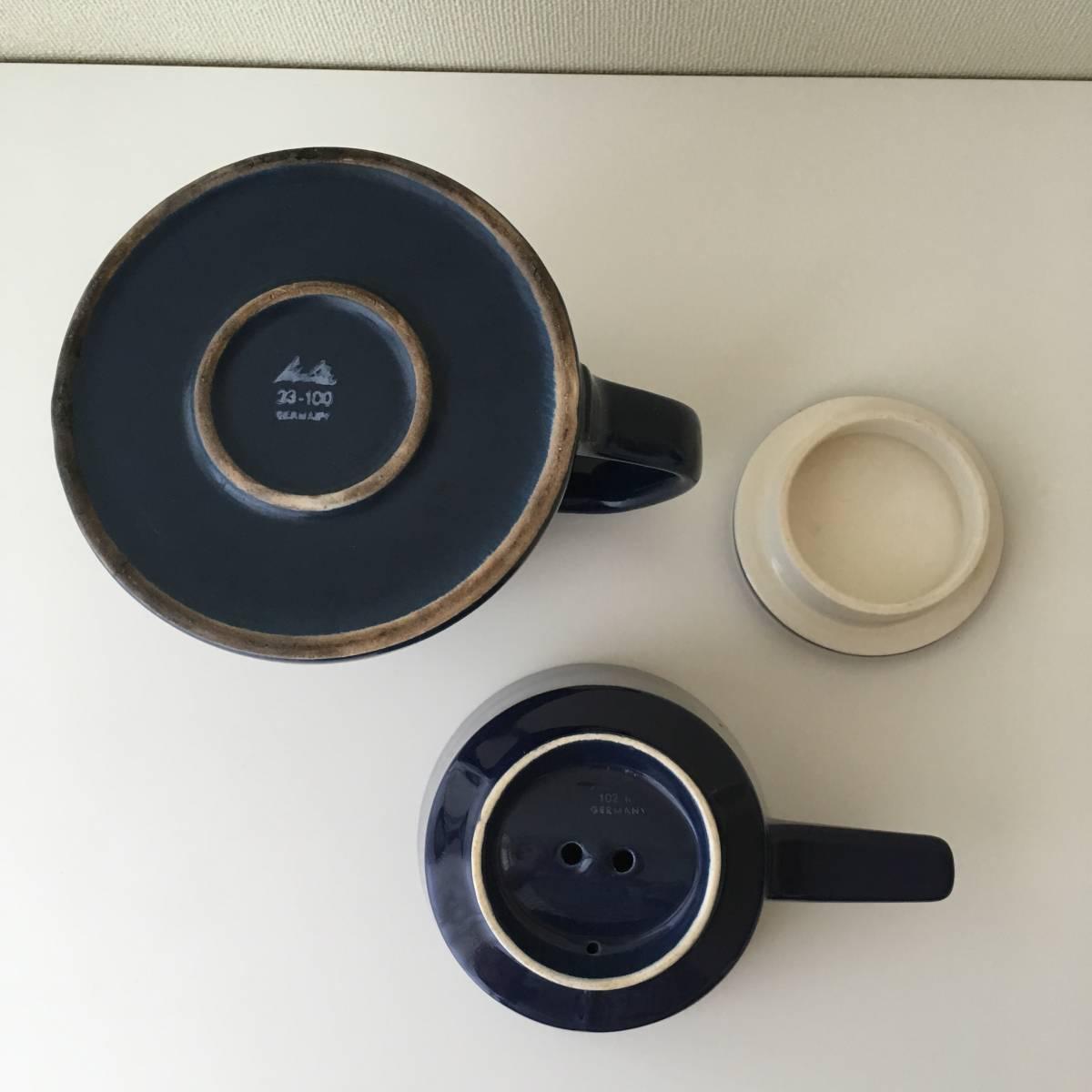 北欧ヴィンテージ ビンテージ 北欧雑貨 コーヒーポット フィルター 陶器製_画像5