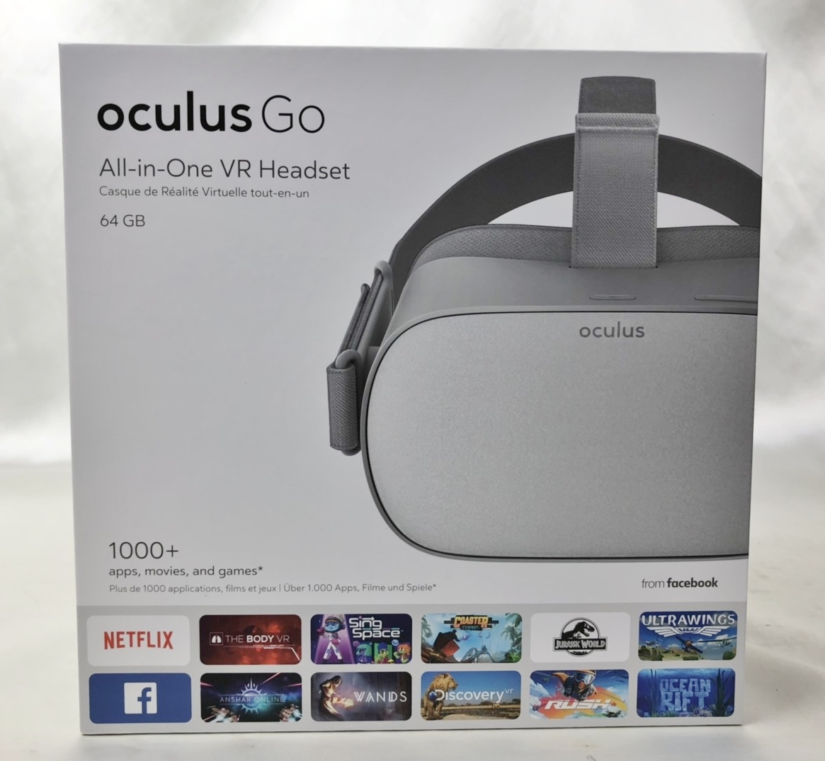 良品 oculus GO オキュラス 64GB VR ヘッドセット MH-A64
