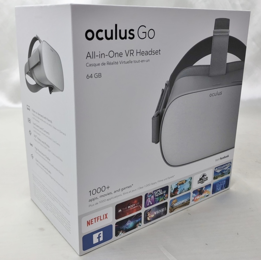 良品 oculus GO オキュラス 64GB VR ヘッドセット MH-A64_画像3