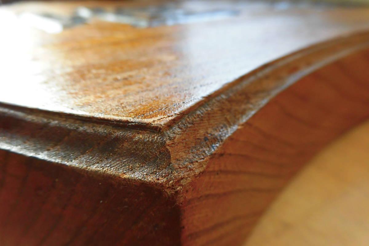 金融関係 骨董品④-1 木製 欅無垢 吊看板『 両替 』 金融業者の看板 極美品 手彫り_画像7