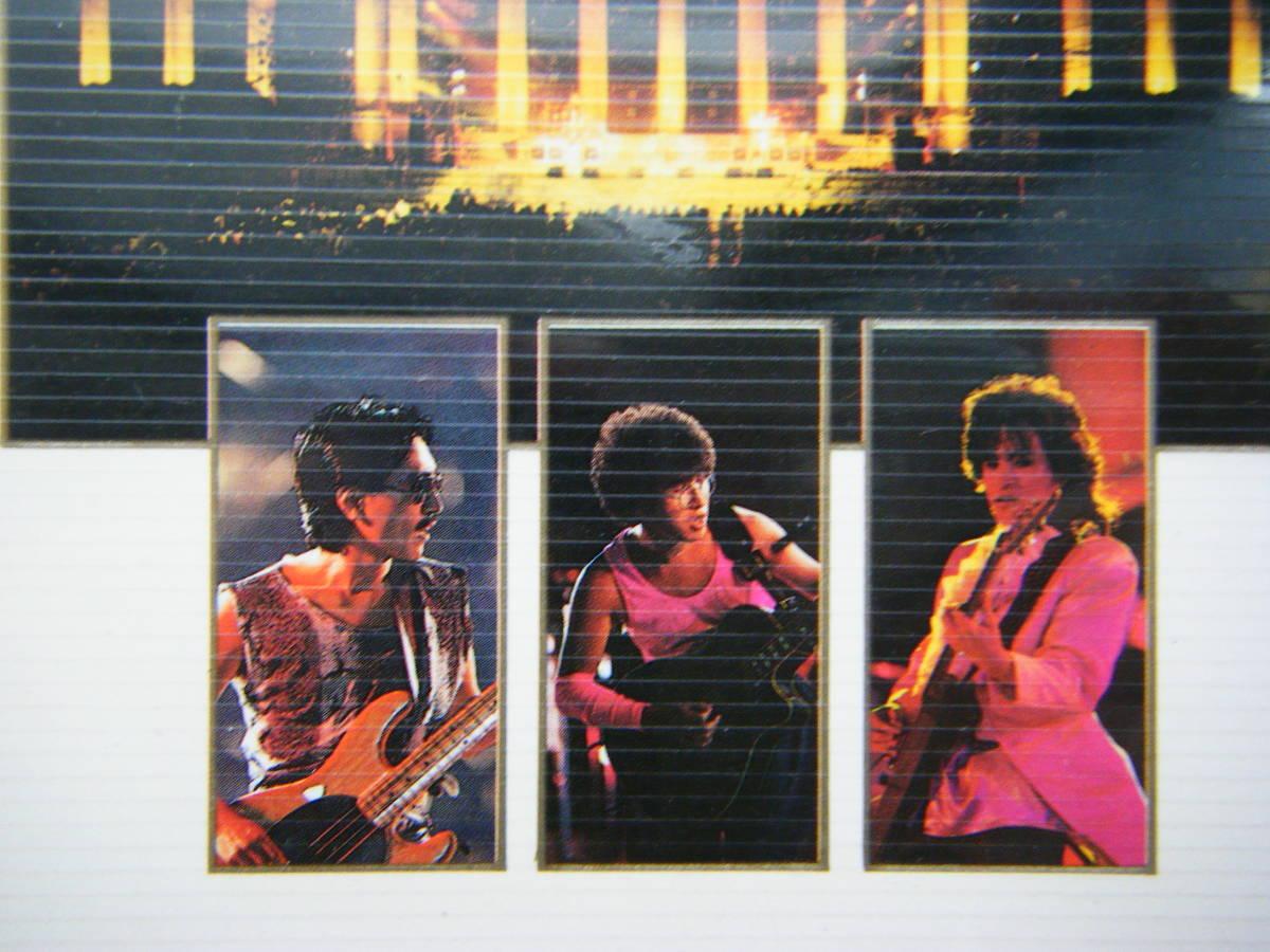 即決 アルフィーの古い中古VHSビデオ2本「ヒストリー1982~1985」「3DAYS 1985.8.27/28/29 YOKOHAMA STADIUM」詳細・曲目は写真5~9を参照_画像9