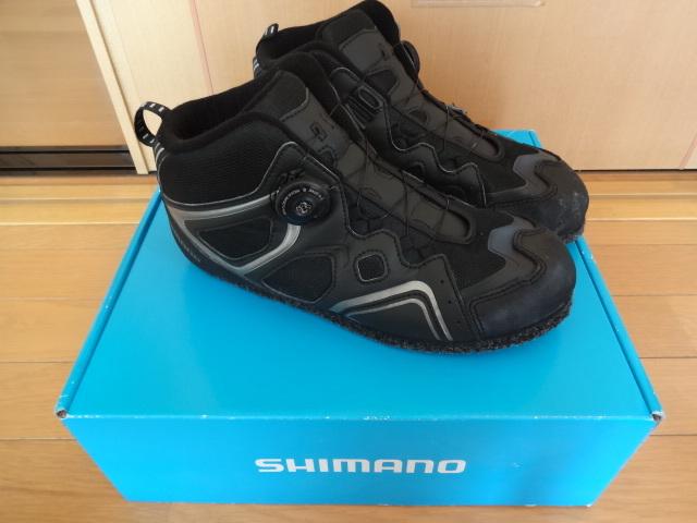 シマノ製 3Dカットピンフェルトフィットシューズ(27.0cm)磯靴