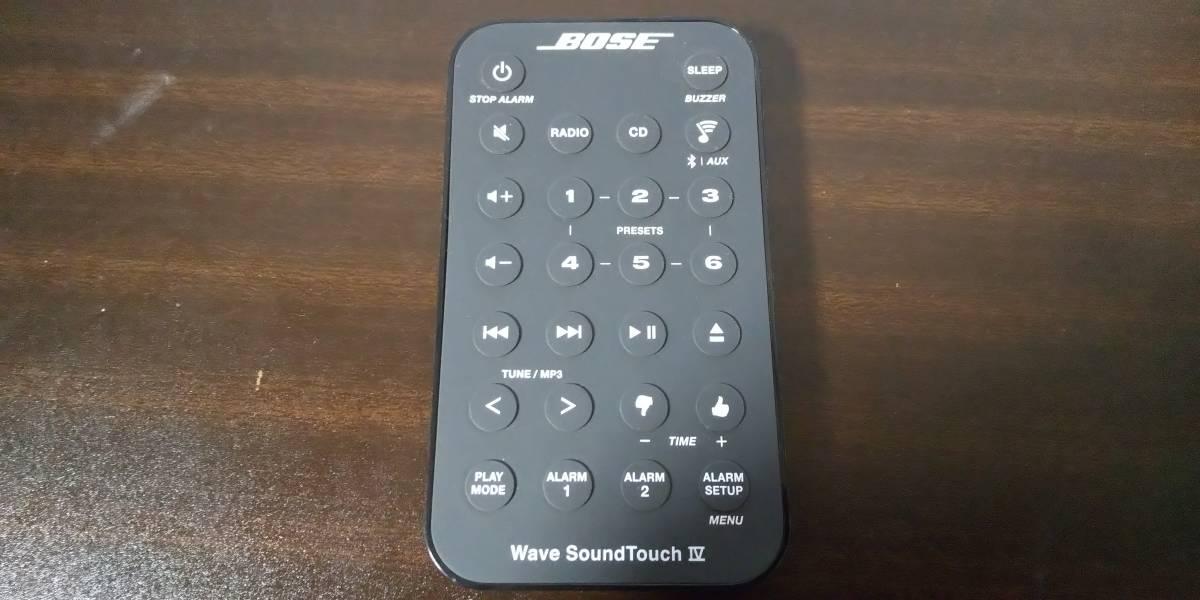 CD・ラジオ・Bluetooth・ホームWi-Fi対応オーディオ Bose Wave SoundTouch music system IV ボーズ_画像2