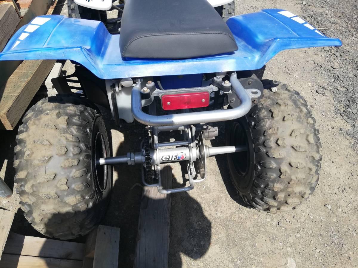 札幌発 軽トレーラー YF200S セット 車検付 四輪バギー バンシー レジャー等に アルミトレーラー_画像8