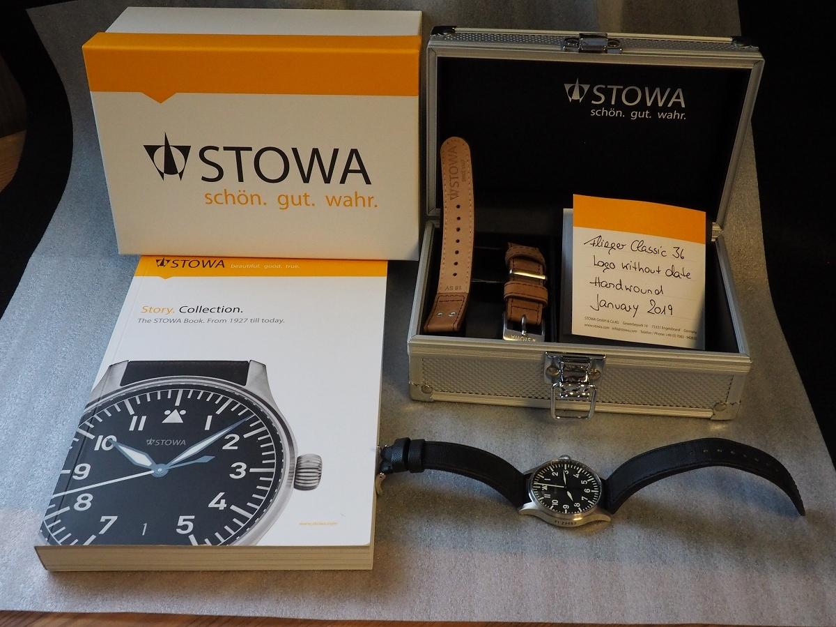 STOWA Flieger 36 ストーヴァ フリーガー 36mm ノンデイト 新ロゴ Fl 23883_画像7
