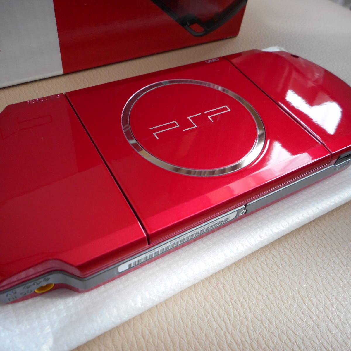 ☆★新品未使用★プレーステーションポータブル PSP-3000RRラディアンレッド_画像7