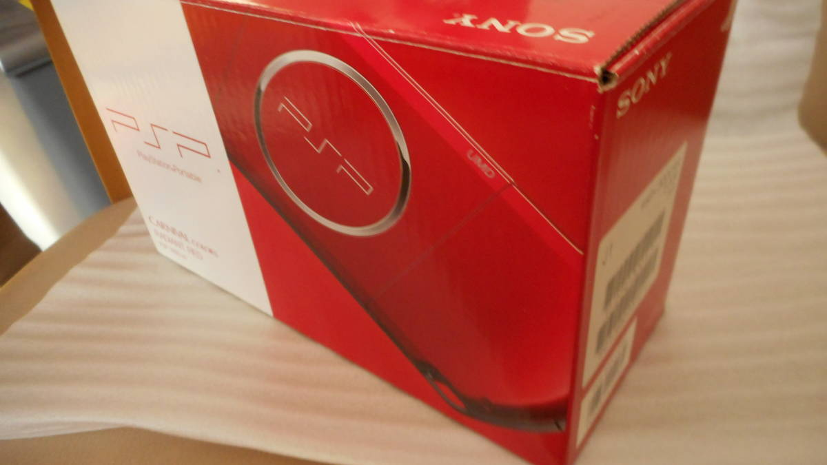☆★新品未使用★プレーステーションポータブル PSP-3000RRラディアンレッド_画像5