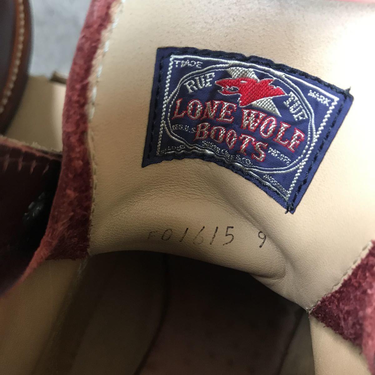 美品 lone wolf カーペンター ブーツ 9 /検 シュガーケーン 東洋 ローンウルフ_画像7