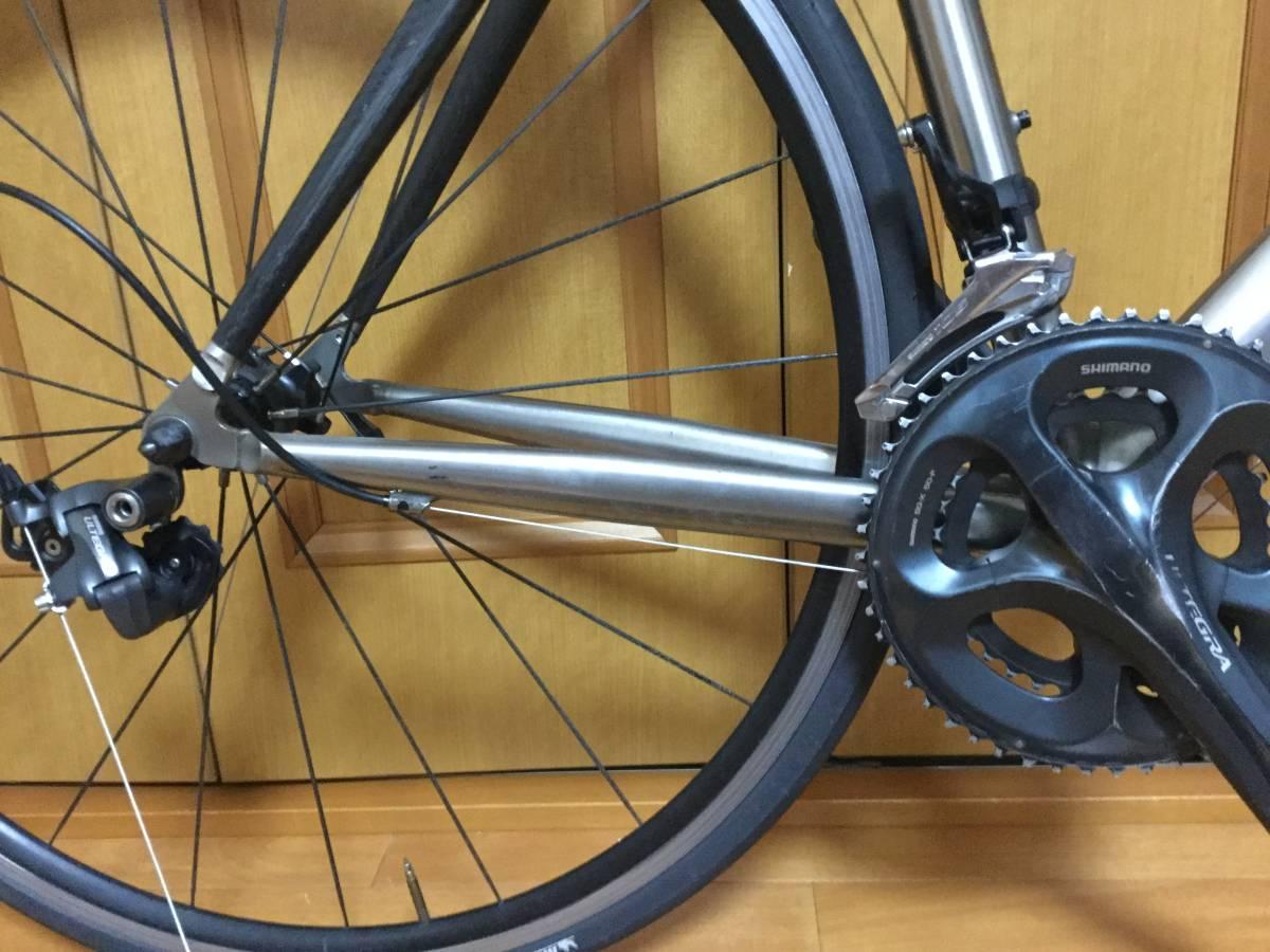 チタン-カーボンバック ロードバイク_画像2