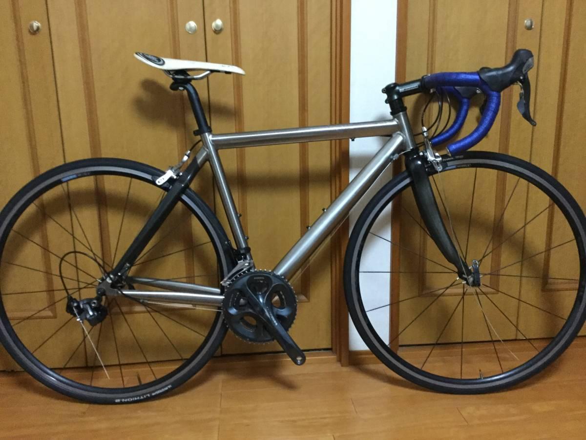 チタン-カーボンバック ロードバイク