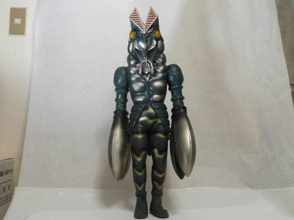 バンダイ 1990 ウルトラマン バルタン星人 ジャイアントスケール ビッグ ソフビ 全長約63cm 当時物 訳あり
