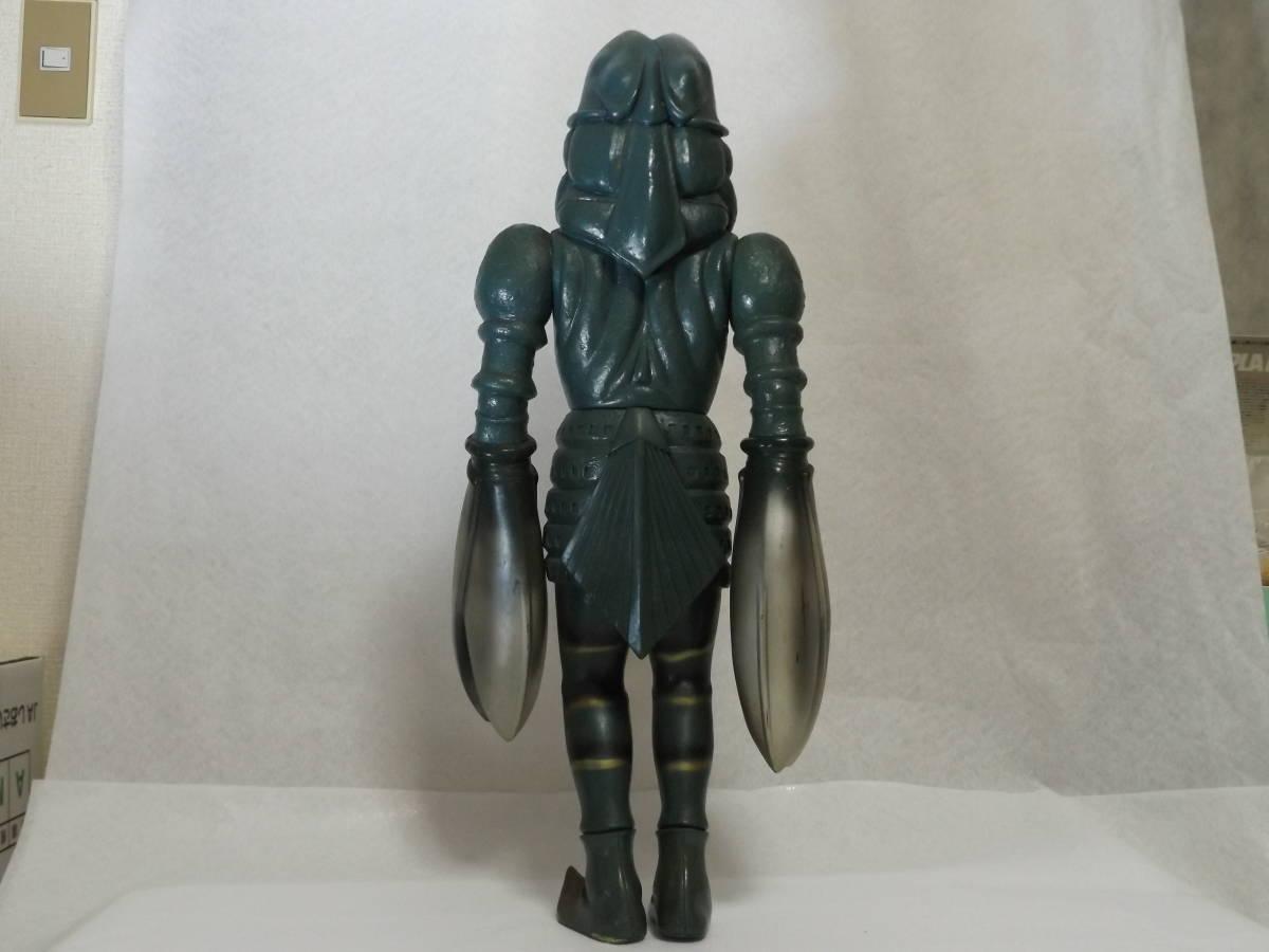 バンダイ 1990 ウルトラマン バルタン星人 ジャイアントスケール ビッグ ソフビ 全長約63cm 当時物 訳あり_画像2