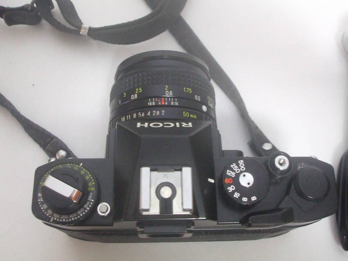 リコー RICOH XR500 XR RIKENON 1:2 50mm フィルムカメラ ジャンク品扱い_画像7