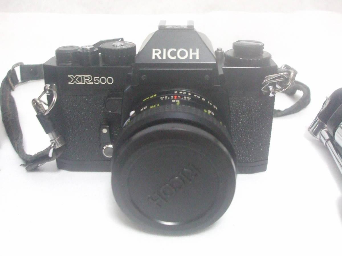 リコー RICOH XR500 XR RIKENON 1:2 50mm フィルムカメラ ジャンク品扱い_画像2