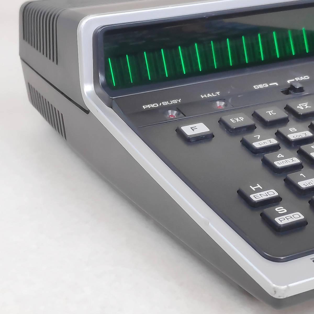 SHARP 電卓 PC-1001 ジャンク 06179_画像4