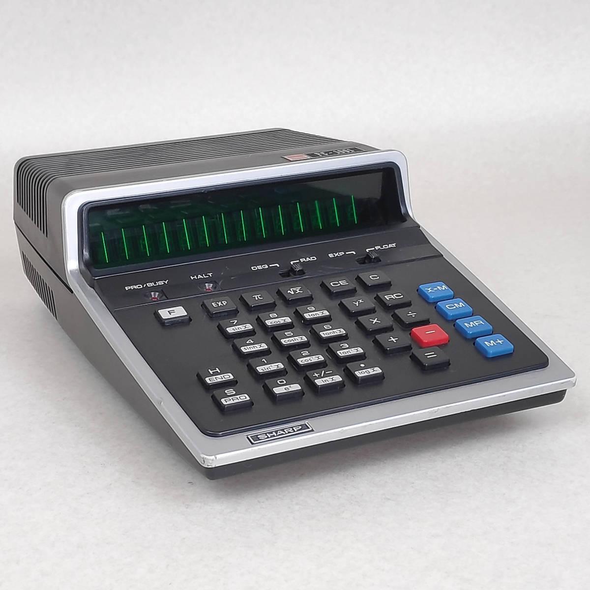SHARP 電卓 PC-1001 ジャンク 06179