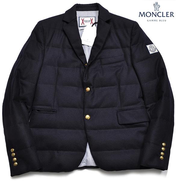 新品33万 MONCLER GAMME BLEU (モンクレール ガム・ブルー) 最高級ウール100% ダウンジャケット サイズ5 (XXLサイズ相当) [直営購入]メンズ