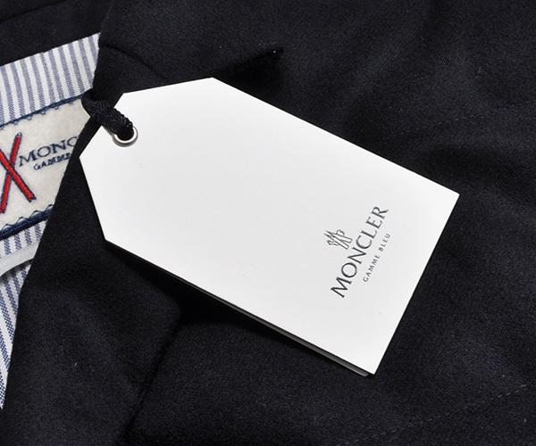 新品33万 MONCLER GAMME BLEU (モンクレール ガム・ブルー) 最高級ウール100% ダウンジャケット サイズ5 (XXLサイズ相当) [直営購入]メンズ_画像7