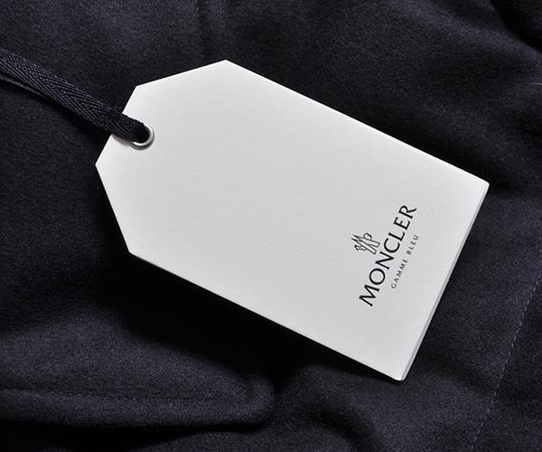 新品46万 MONCLER GAMME BLEU (モンクレール ガム・ブルー) 最高級カシミア100% ダウンジャケット サイズ2 (M相当) [直営購入] メンズ_画像7