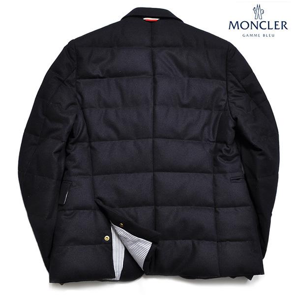 新品33万 MONCLER GAMME BLEU (モンクレール ガム・ブルー) 最高級ウール100% ダウンジャケット サイズ5 (XXLサイズ相当) [直営購入]メンズ_画像4