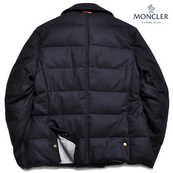 新品46万 MONCLER GAMME BLEU (モンクレール ガム・ブルー) 最高級カシミア100% ダウンジャケット サイズ2 (M相当) [直営購入] メンズ_画像4