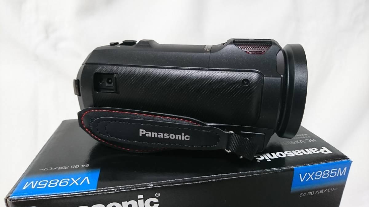 美品!おまけ付き!Panasonic デジタル 4K ビデオカメラ HC-VX985M 64GB内蔵 ブラック_画像4
