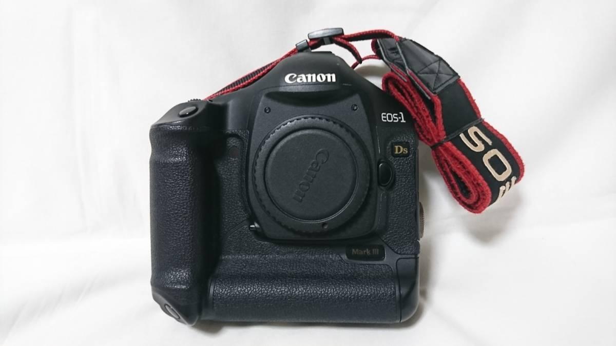 お買い得!1円スタート!Canon キヤノン EOS-1 Ds MarkⅢ デジタル一眼レフ ボディ